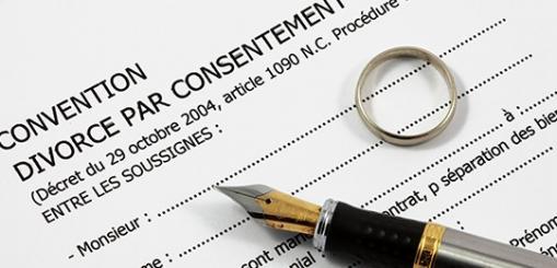 convention divorce par consentement mutuel