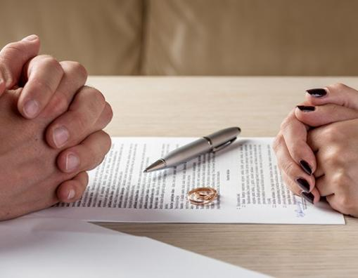papier divorce